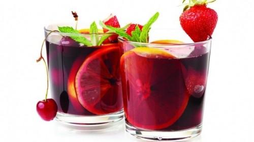 сангрия с фруктами