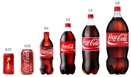 cola объемы