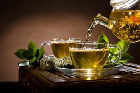 green чай