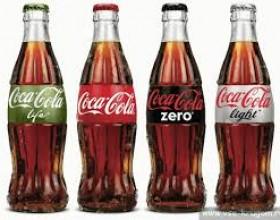 Виды кока-колы