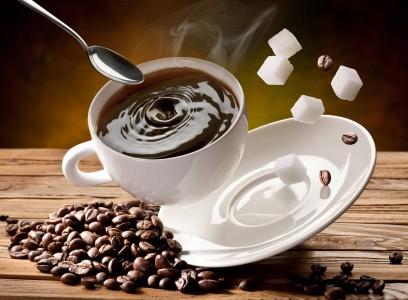 kofe с сахаром