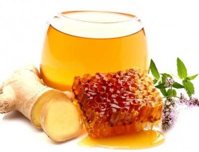 Имбирь и мед напиток