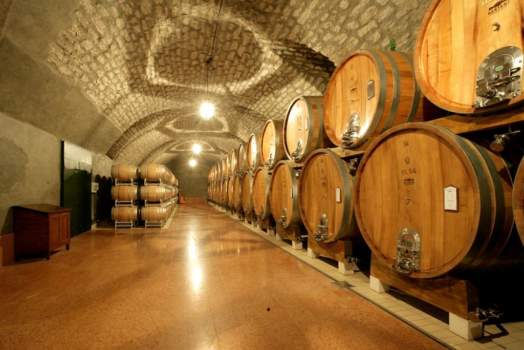 многолетняя выдержка вина