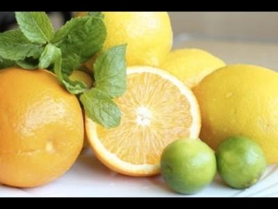 апельсин мята лимон