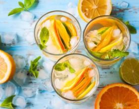 коктейль из цитрусовых