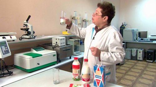 Лабораторный анализ молока