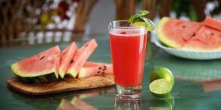 Арбузный лимонад - рецепт освежающего арбузного напитка