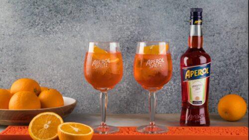 Winter Spritz - зимний напиток в стиле Aperol Spritz