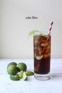 Простые напитки с ромом на Новый год