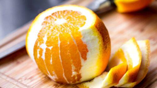 Oleo Sacharum. Рецепт сиропа из апельсиновой цедры.