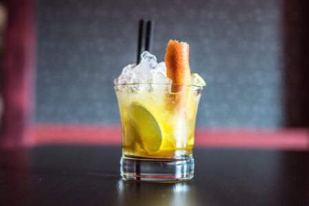 Рецепт мангового напитка с водкой
