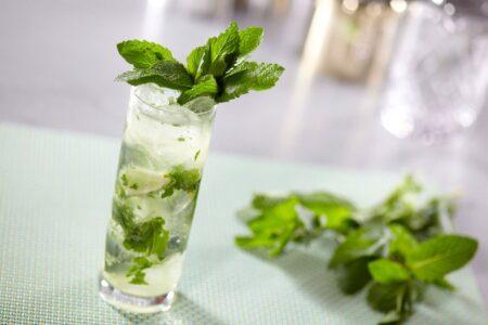 Gin Basil Smash - напиток из базилика с джином.
