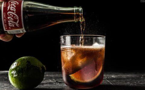 Longue Lizzard - простой напиток с темным ромом и амаретто