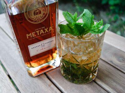 Греческая свадьба - напиток с метаксой и апельсином