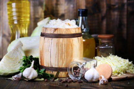 Сок квашеной капусты - источник витаминов, свойства