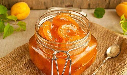 Десерт медовый с абрикосом