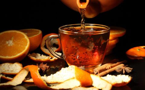 Рецепт джина, настоянного на фруктовом чае.