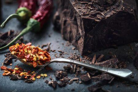 Рецепт разогрева горячего шоколада FIT с чили!
