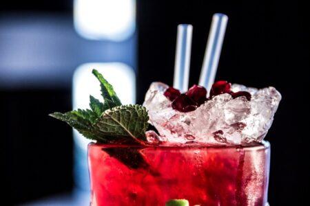 Żurawinowa Pokusa - напиток с клюквенным соком и водкой