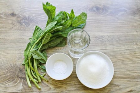 Рецепт домашнего мятного сиропа.