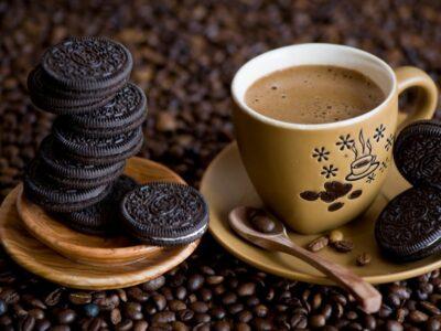 Рецепт холодного кофе с орео.