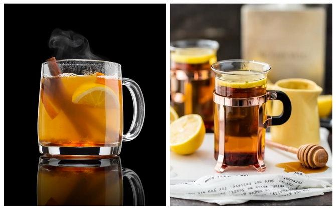 Хотт Тодди - Чай с виски