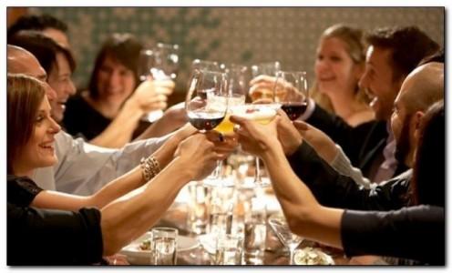 Домашний алкоголь и друзья