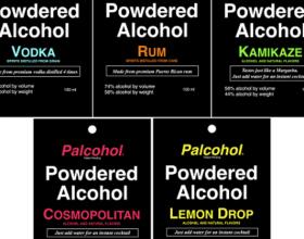 сухой алкоголь - виды