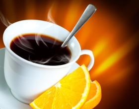 Апельсиновый кофе