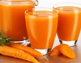 Сок моркови и грейфр.