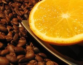 кофе и цитрус