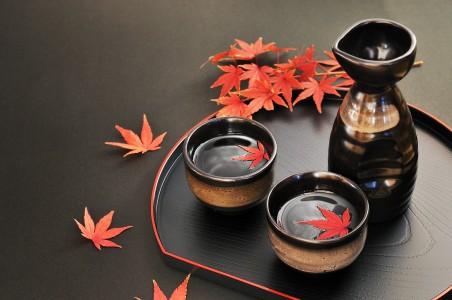 お酒と紅葉  спиртное «Нихонсю»