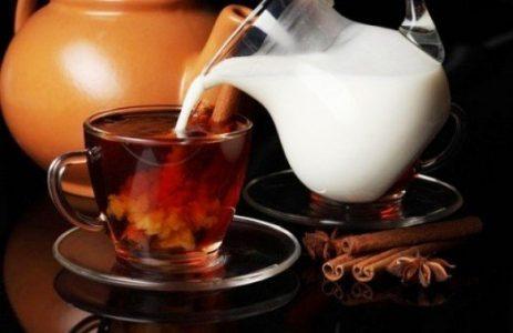 молоко к чаю