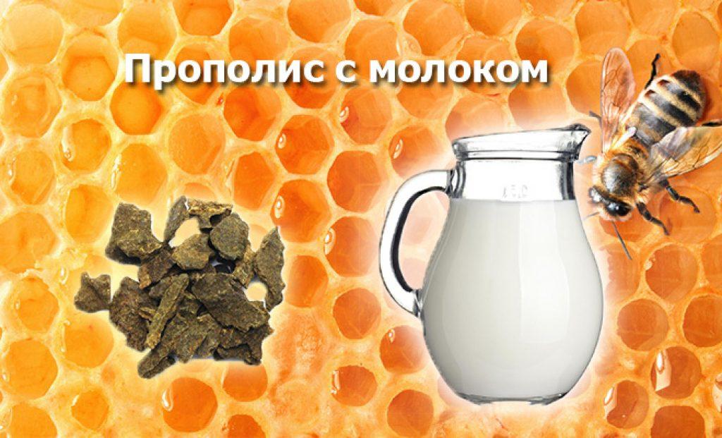 Молоко с прополисом рецепт
