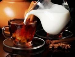Чай с молоком рецепты и польза
