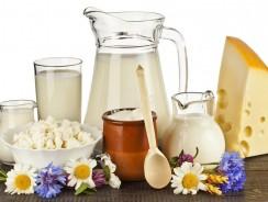 Молочнокислые продукты, молоко и дети