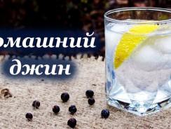 джин в домашних условиях
